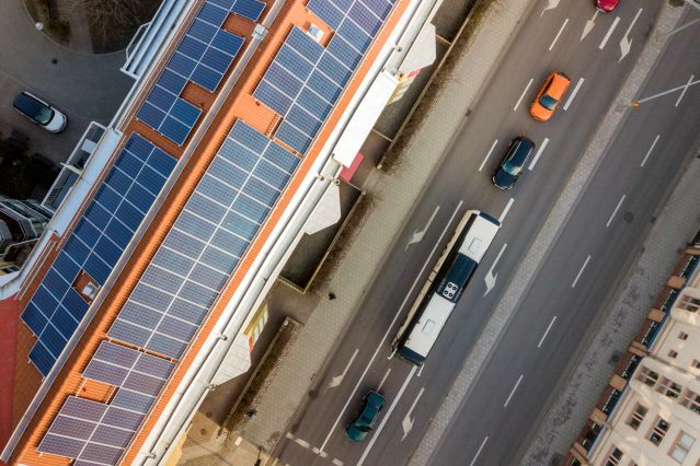 Солнечные панели на всех объектах на Кипре