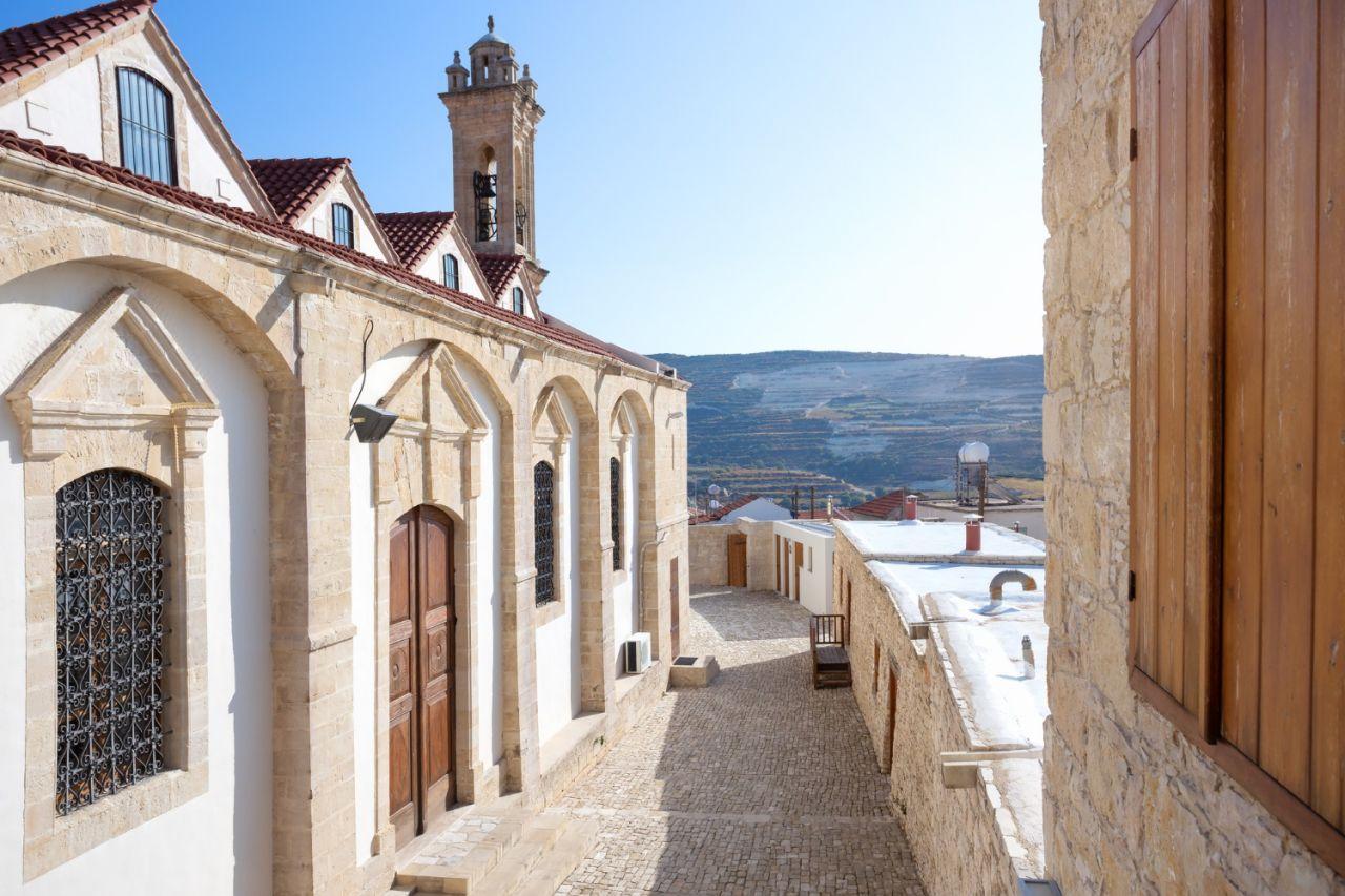 神圣、光荣和历史悠久的 Kykkos 修道院